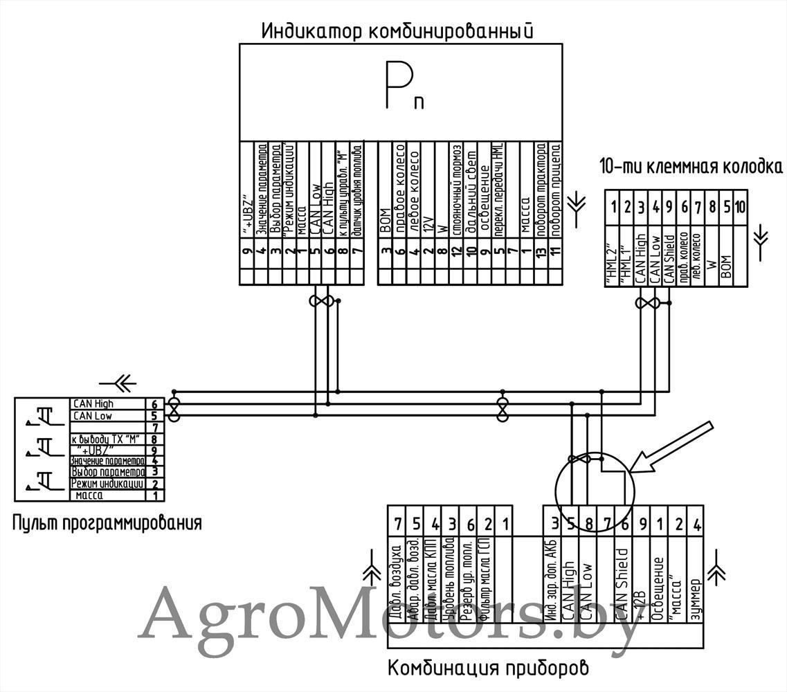 схема системы питания двигатель mercedes om 904